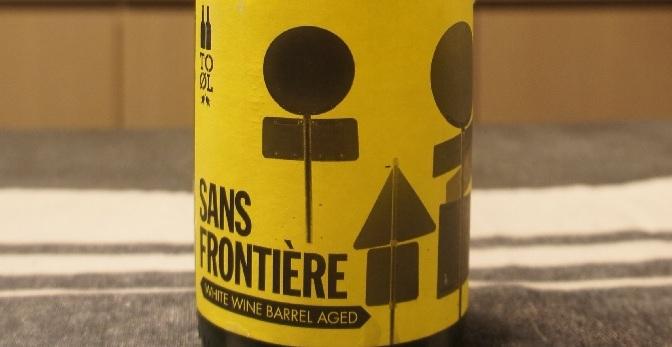 To Øl Sans Frontière White Wine Barrel Aged
