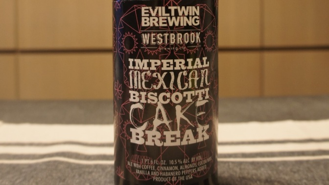 Evil Twin x Westbrook Imperial Mexican Biscotti Cake Break