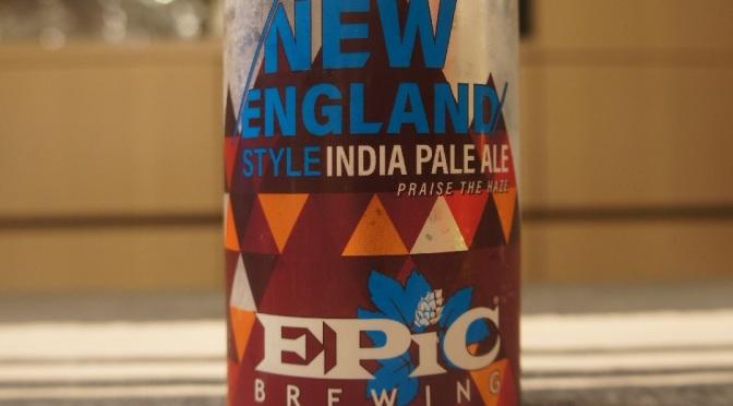 Epic New England Style IPA (Citralush)