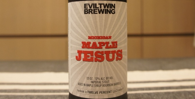 Evil Twin Michigan Maple Jesus