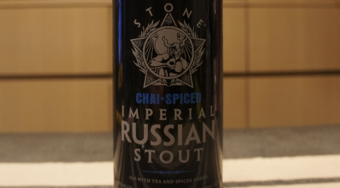 Stone Imperial Russian Stout Chai-Spiced