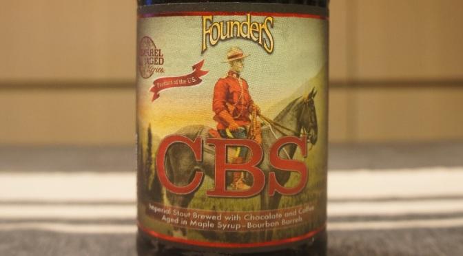 Founders CBS (Canadian Breakfast Stout)