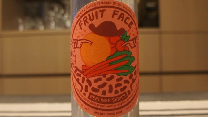Mikkeller San Diego Fruit Face with Cranberry Rhubarb & Orange