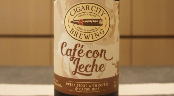 Cigar City Café Con Leche
