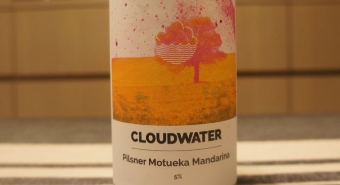 Cloudwater Pilsner Motueka Mandarina