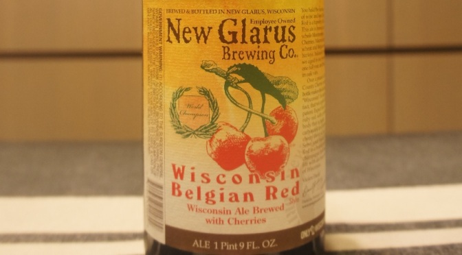 New Glarus Wisconsin Belgian Red