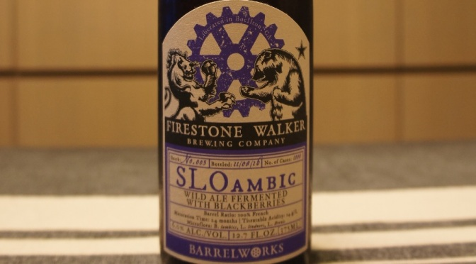 Firestone Walker SLOambic