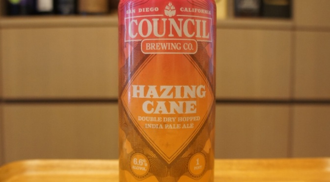 Council Hazing Cane