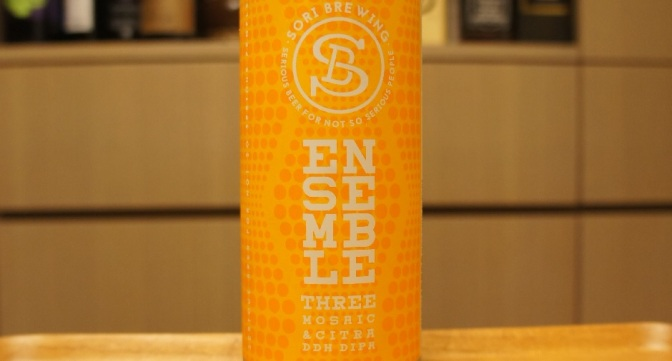 Sori Ensemble Three Mosaic & Citra DDH DIPA