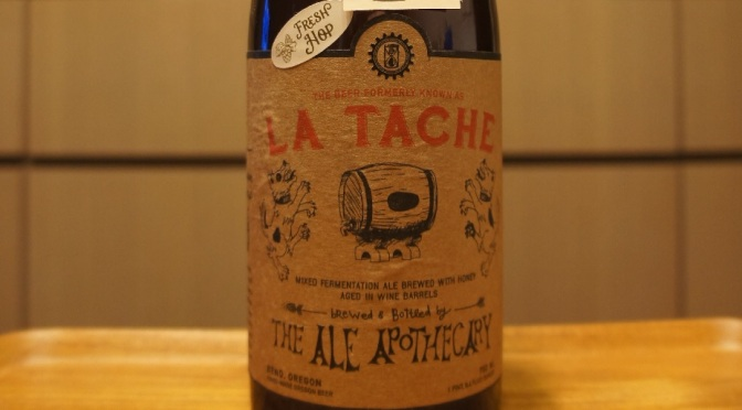 The Ale Apothecary La Tache – Fresh Hop