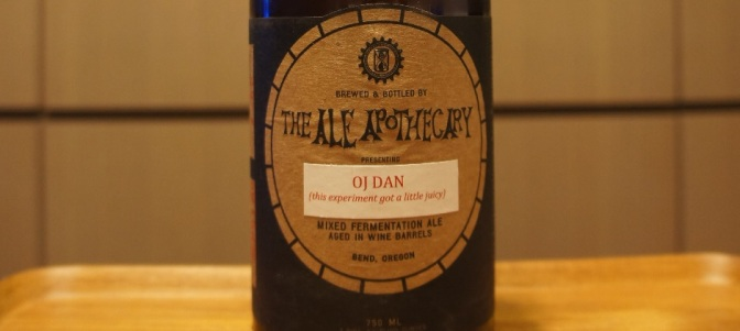 The Ale Apothecary OJ Dan