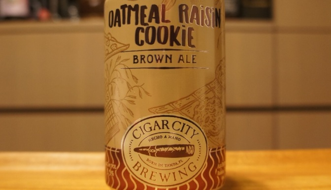 Cigar City Oatmeal Raisin Cookie Brown Ale