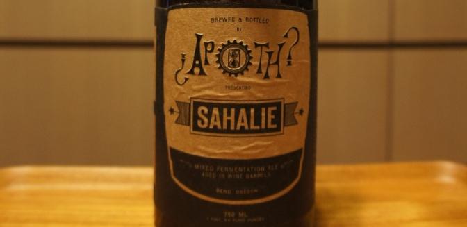 The Ale Apothecary Sahalie