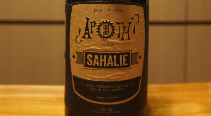 The Ale Apothecary Sahalie