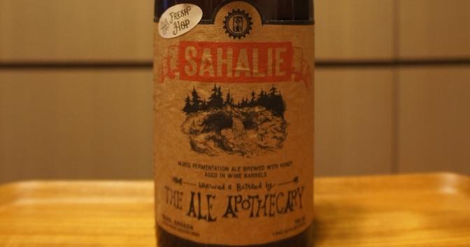 The Ale Apothecary Sahalie – Fresh Hop