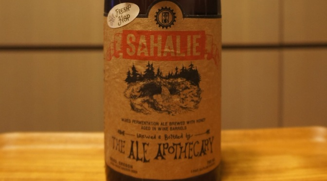 The Ale Apothecary Sahalie – Fresh Hop