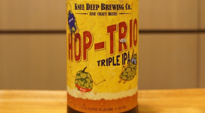 Knee Deep Hop-Trio Triple IPA