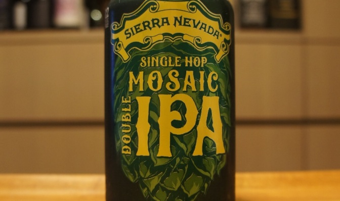 Sierra Nevada Single Hop Mosaic Double IPA