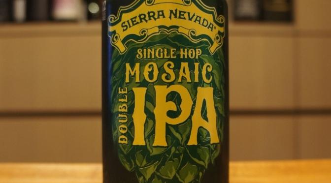 Sierra Nevada Single Hop Mosaic Double IPA