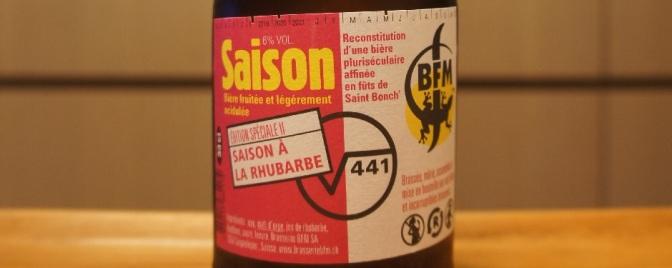 BFM √441 Saison Rhubarbe