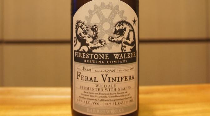 Firestone Walker Feral Vinifera #4