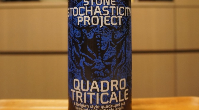 Stone Stochasticity Project Quadrotriticale