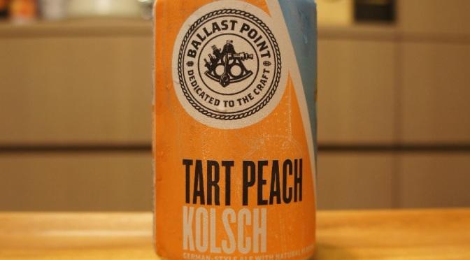 Ballast Point Tart Peach Kölsch