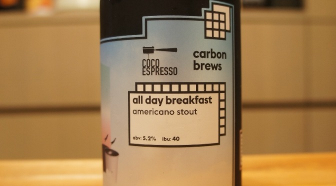 Carbon Brews All Day Breakfast Americano Stout