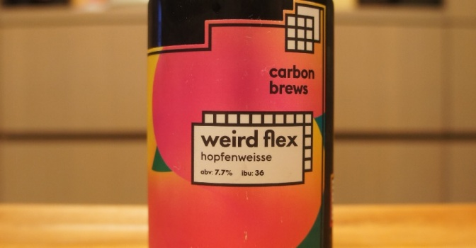 Carbon Brews Weird Flex Hopfenweisse