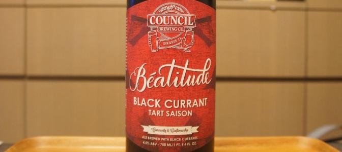 Council Béatitude Black Currant Tart Saison