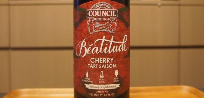 Council Béatitude Cherry Tart Saison