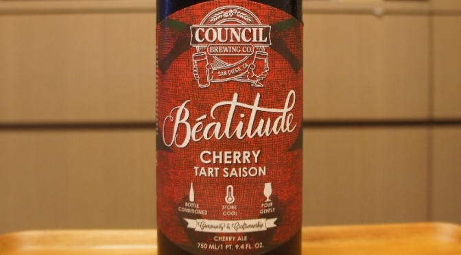 Council Béatitude Cherry Tart Saison