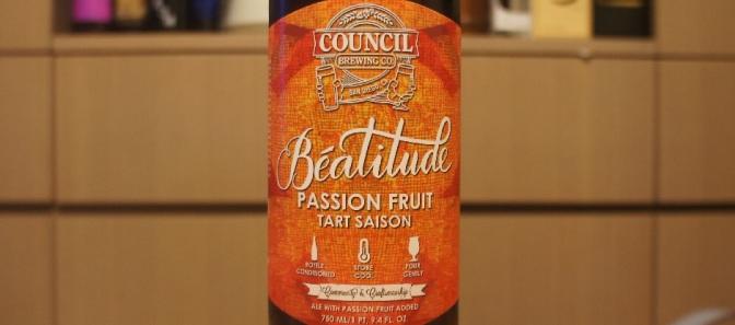 Council Béatitude Passion Fruit Tart Saison