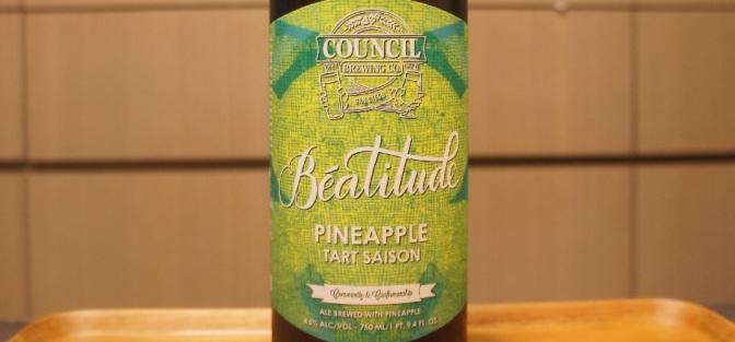 Council Béatitude Pineapple Tart Saison