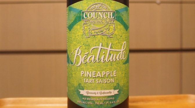Council Béatitude Pineapple Tart Saison