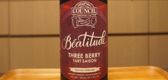 Council Béatitude Three Berry Tart Saison