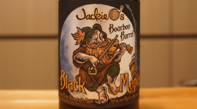 Jackie O's Bourbon Barrel Black Maple