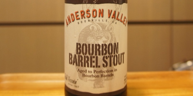 Anderson Valley Wild Turkey Bourbon Barrel Stout