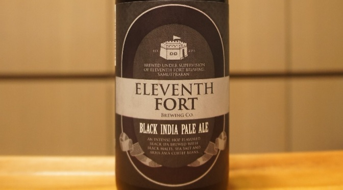 Eleventh Fort Black India Pale Ale