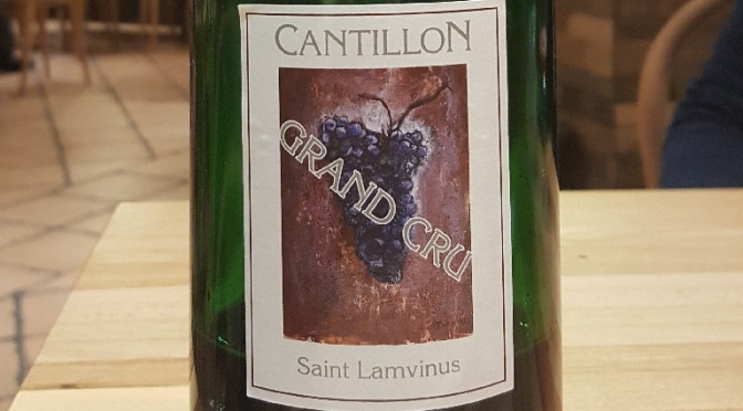 Cantillon Saint Lamvinus Grand Cru