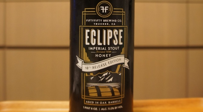 FiftyFifty Imperial Eclipse Stout Evan Williams