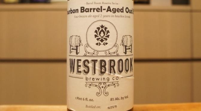 Westbrook Bourbon Barrel-Aged Oud Bruin