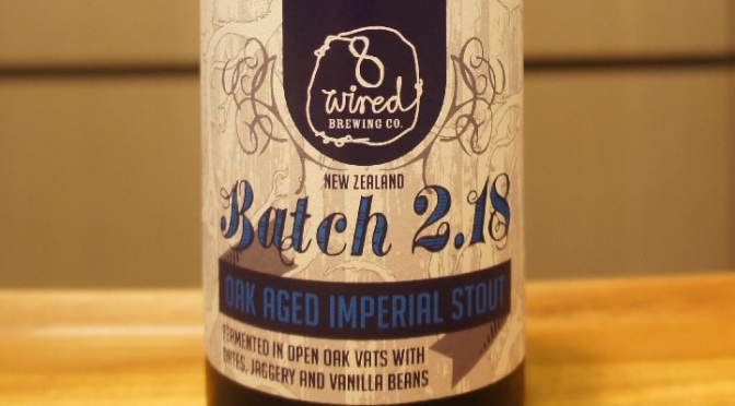 8 Wired Batch 2.18 Oak Aged Imperial Stout