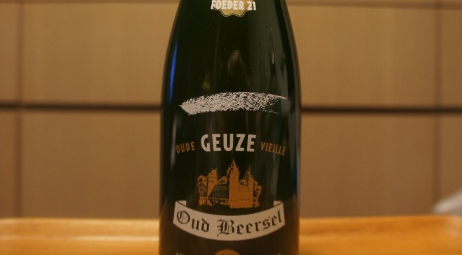 Oud Beersel Oude Geuze Vieille Barrel Selection Foeder 21