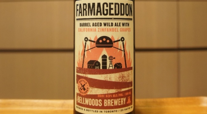 Bellwoods Farmageddon California Zinfandel Grapes