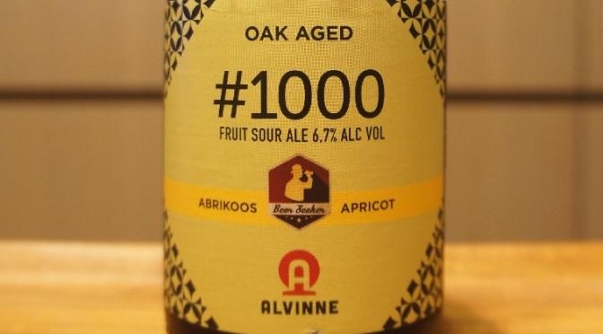 Alvinne Batch #1000 Abrikoos-Apricot