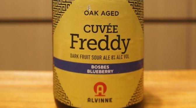 Alvinne Cuvée Freddy Bosbes-Blueberry