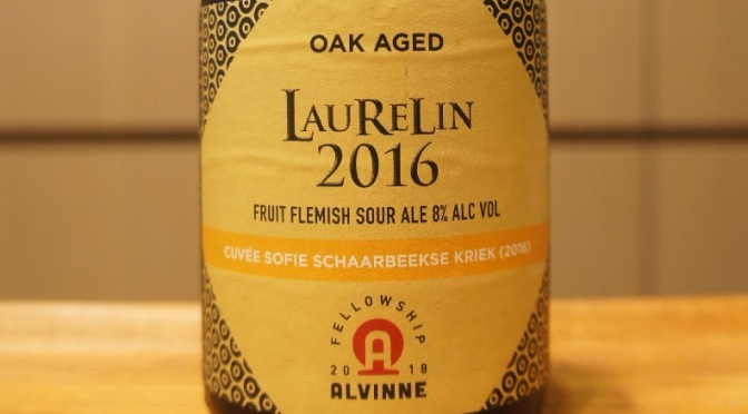Alvinne Laurelin 2016 Fellowship Ale N°4