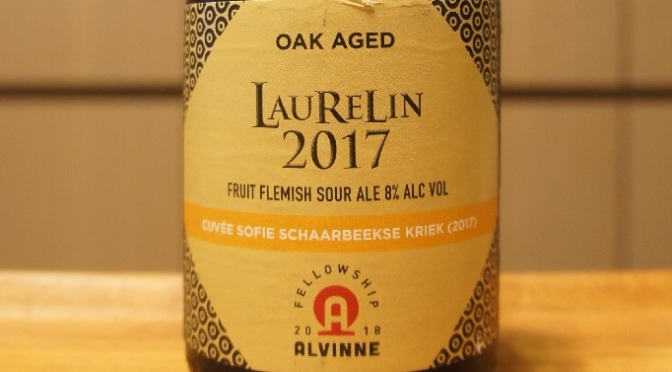 Alvinne Laurelin 2017 Fellowship Ale N°5