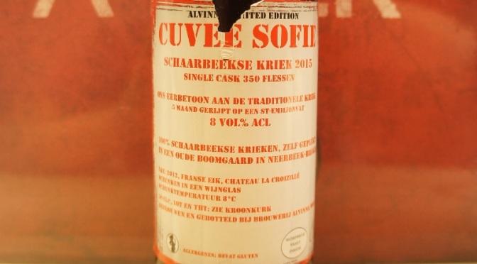 Alvinne Cuvée Sofie Schaarbeekse Kriek